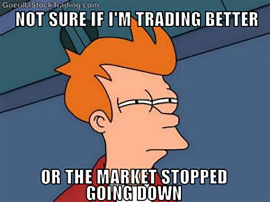 am i a good trader meme