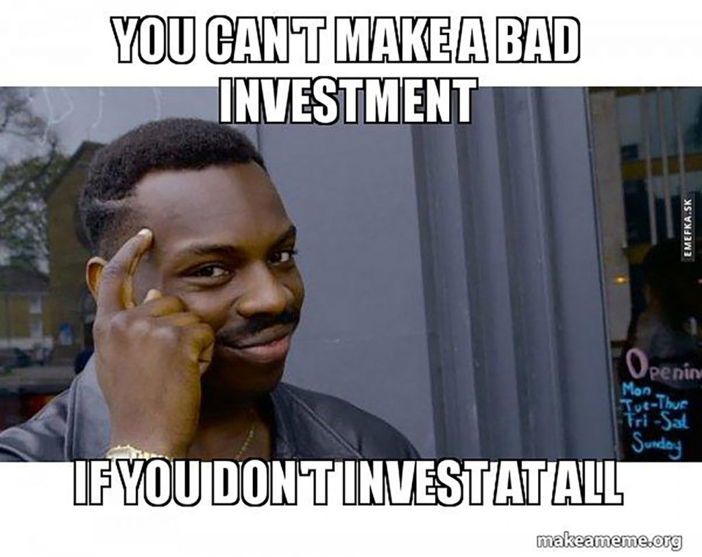 bad investment meme not inveting