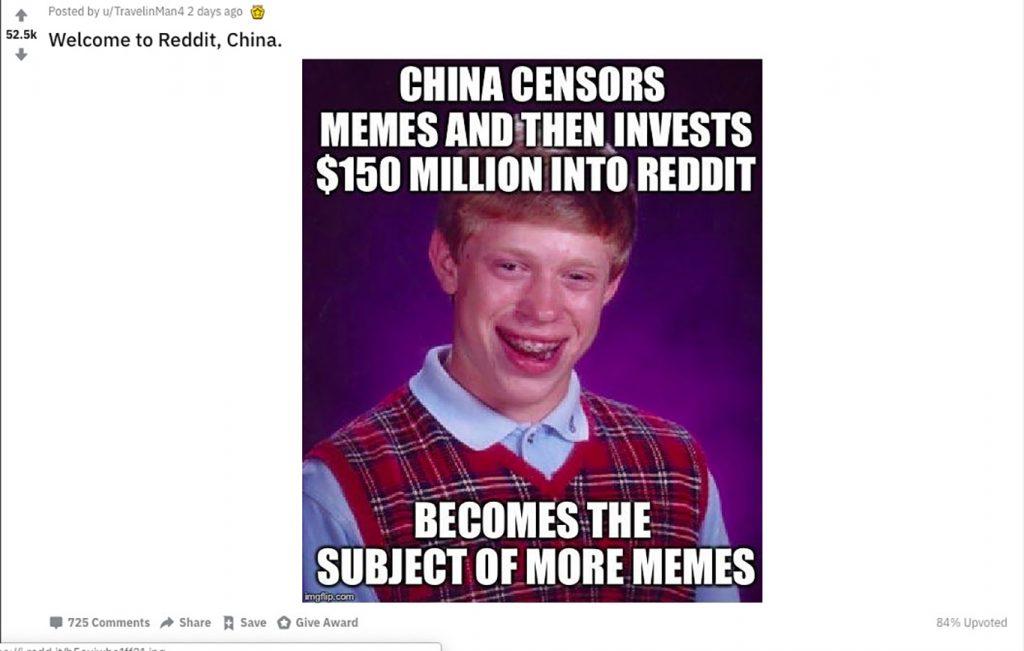 china investment reddit meme