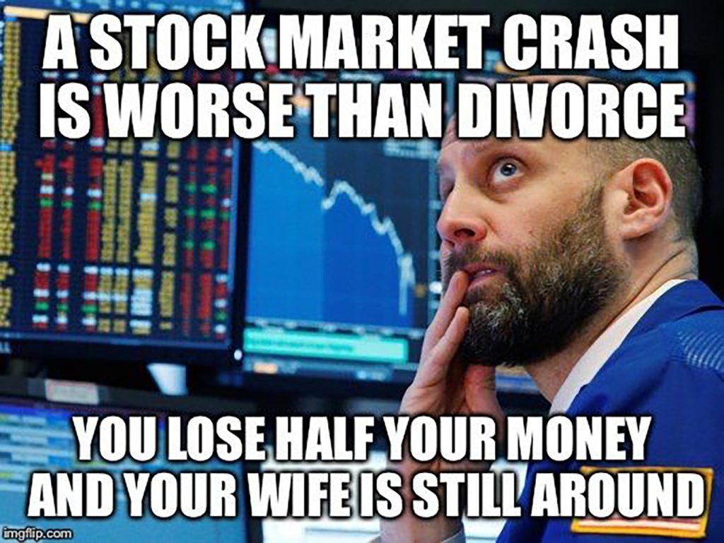 divorce investment meme