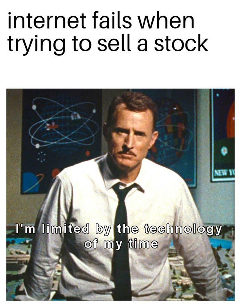 internet fail investing meme