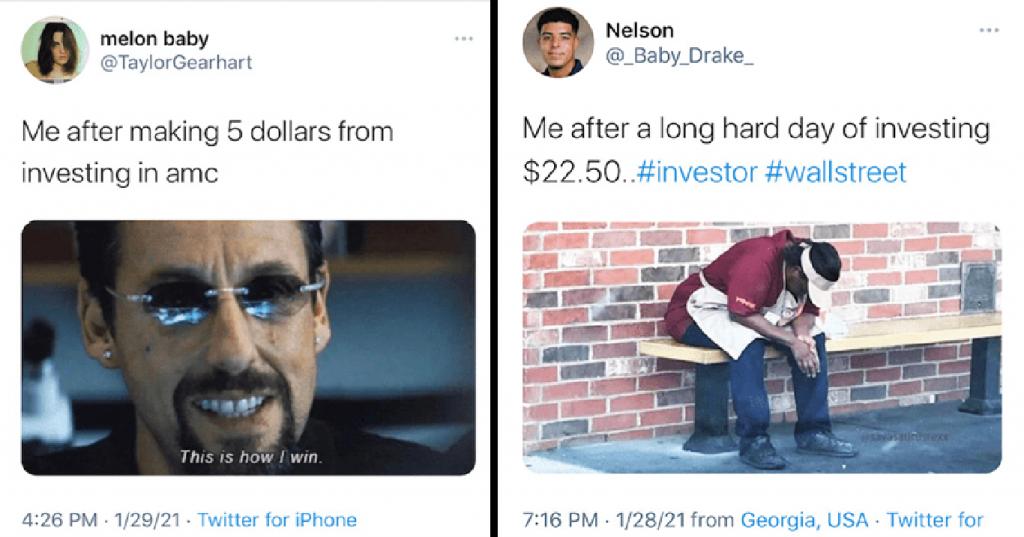 investing hard work meme