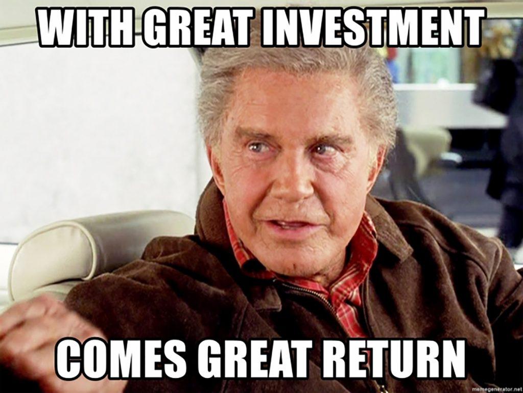 investment meme quote