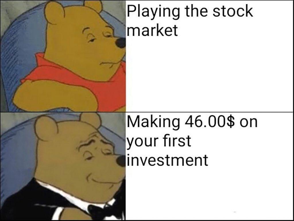 make money investment meme