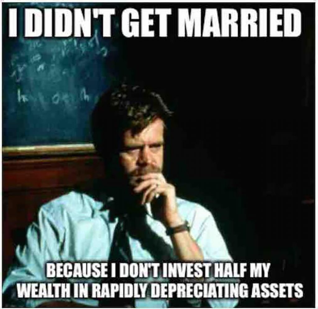 married investment meme