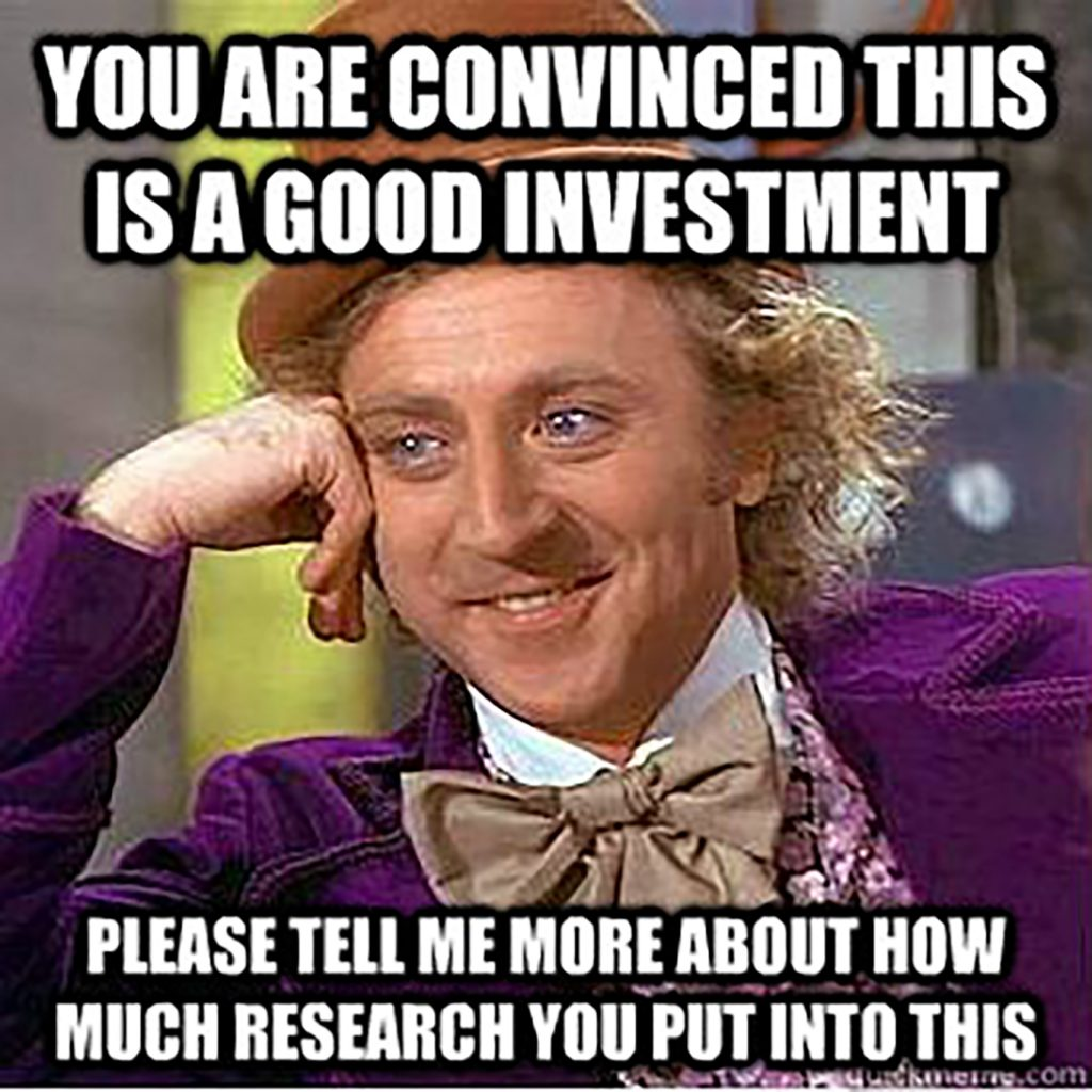 research investing meme