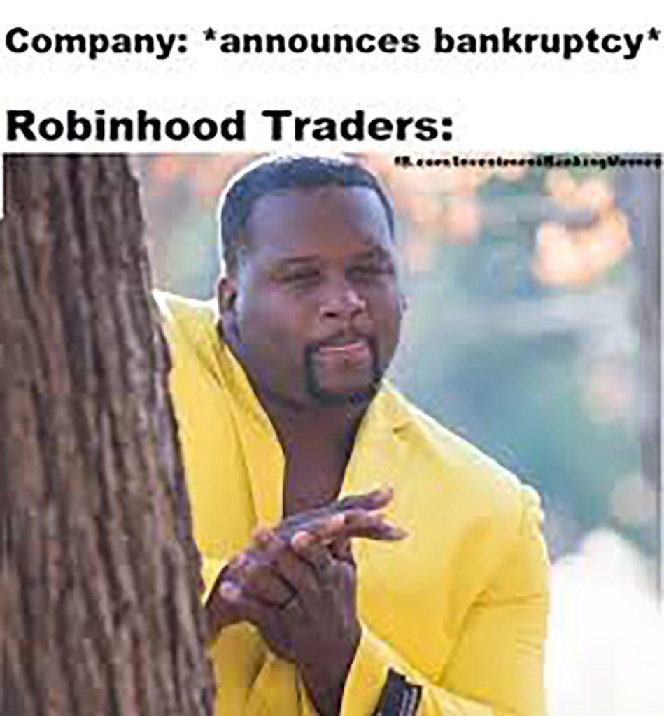 robinhood trading meme