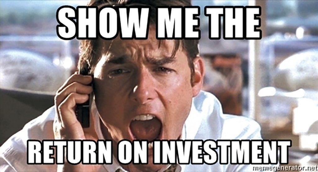 roi investment meme