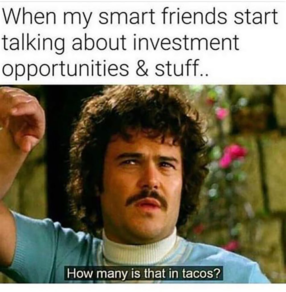 tacos investment meme
