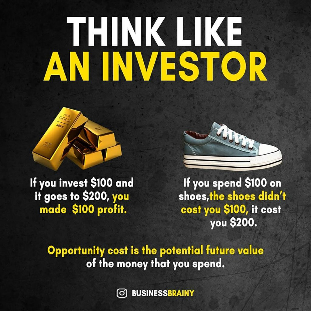 think like an investor meme