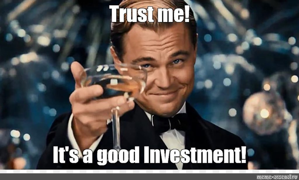trust me good investment meme