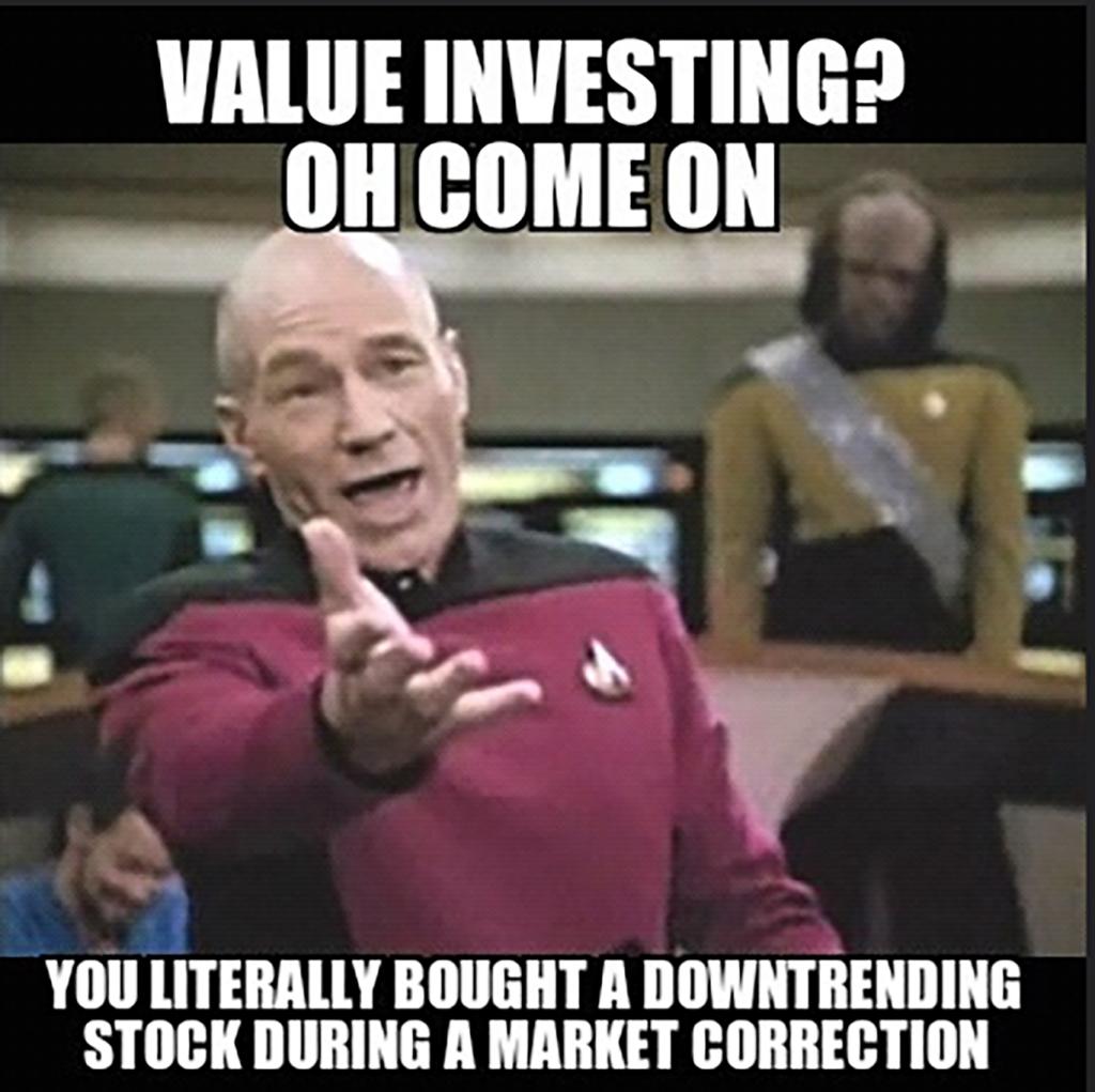 value investing meme