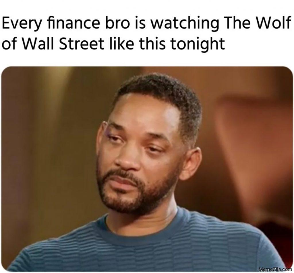 wolf of wall street meme